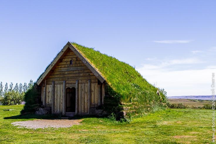 Традиционное жилище викингов