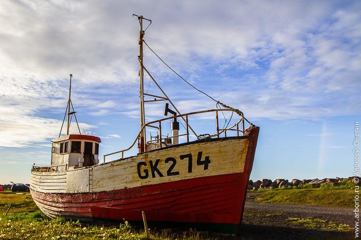 Полуостров Рейкьянес, Исландия