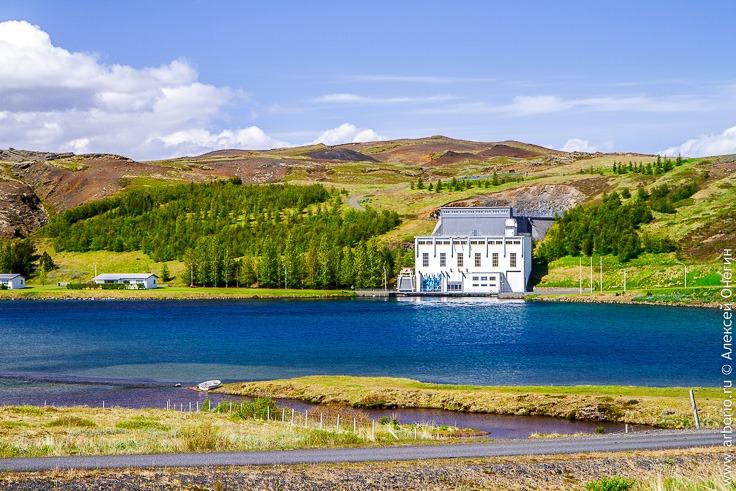 Гидроэлектростанция в Исландии