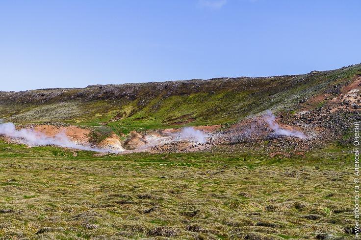 Геотермальные воды в Исландии