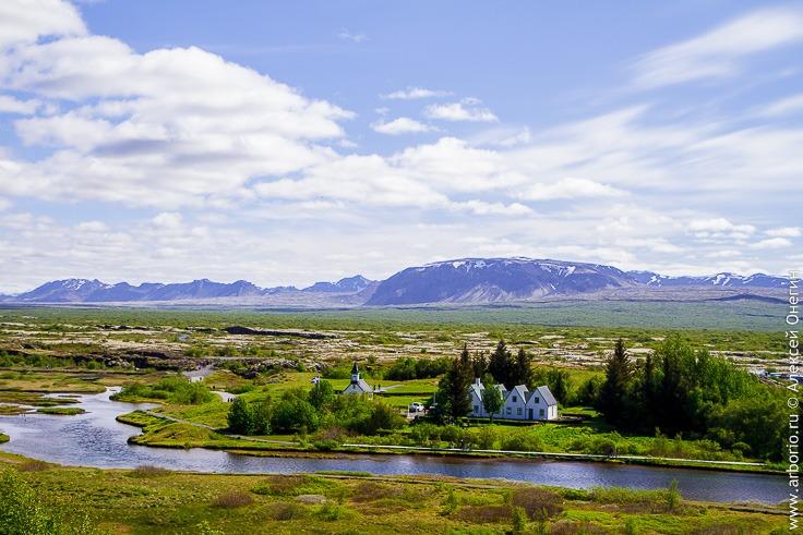 Поля тинга, Исландия