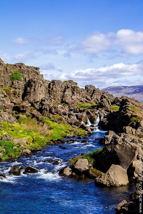 Тингвеллир, Исландия