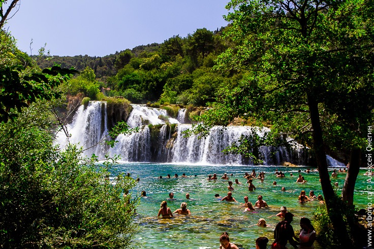 Национальный парк Крка фото