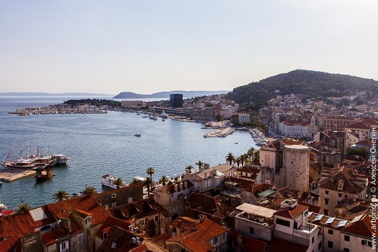 Сплит, второй город Хорватии фото