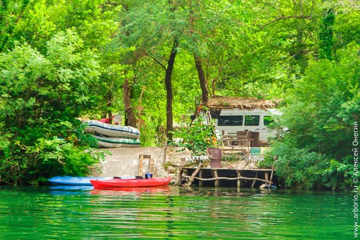 Прогулка по реке Цетине, Хорватия