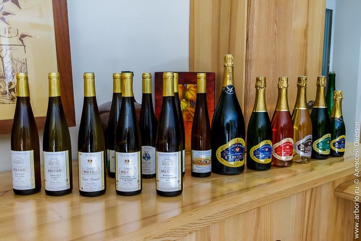 Эльзасские вина