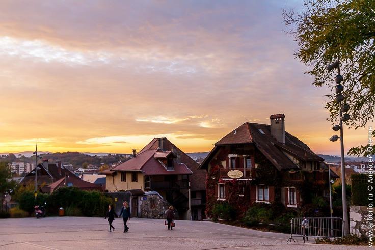 город Анси, Франция