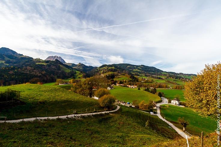 город Грюйер, Швейцария
