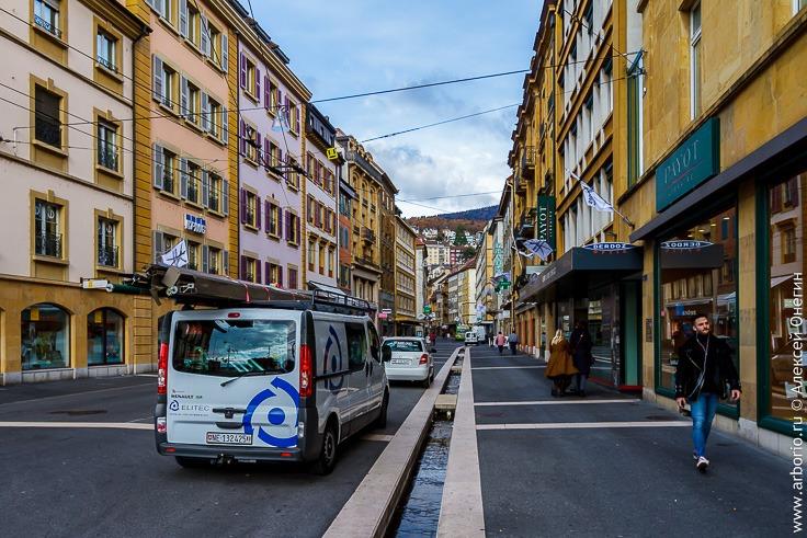 город Невшатель, Швейцария