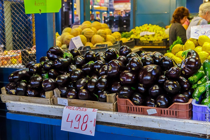 Центральный рынок Будапешта фото