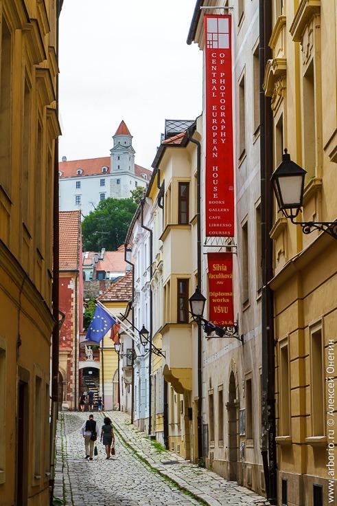 Отзыв и достопримечательности Братиславы
