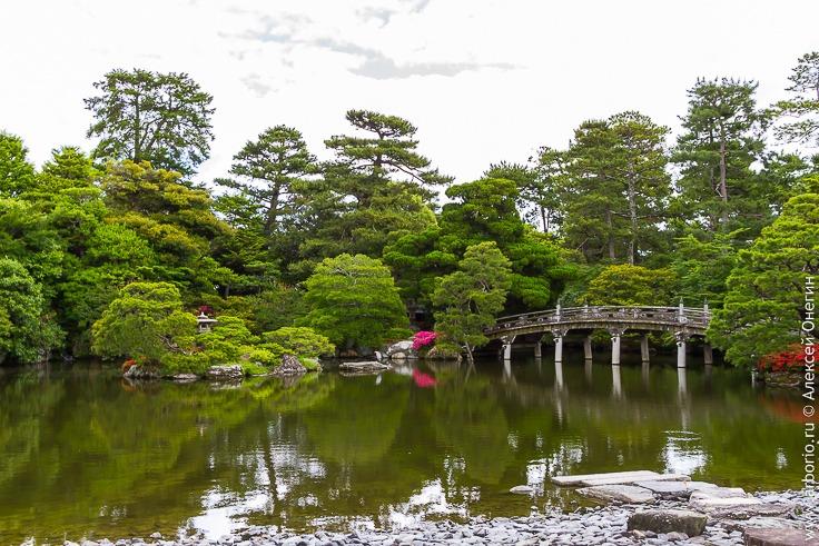 Все достопримечательности Киото: Императорский дворец и Золотой павильон фото