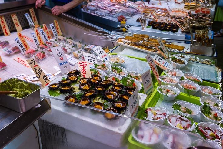 Рынок Нишики в Киото