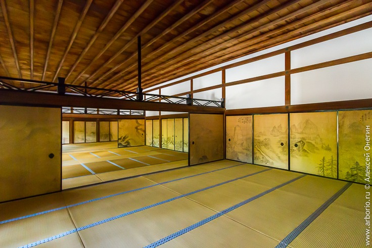 Достопримечательности Киото Япония сад камней Рёандзи