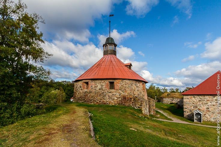 Крепость Корела в Приозерске фото