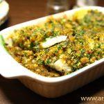 Запеченная рыба с грибами и травами