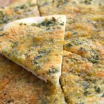 Лепешки с зеленью и сыром