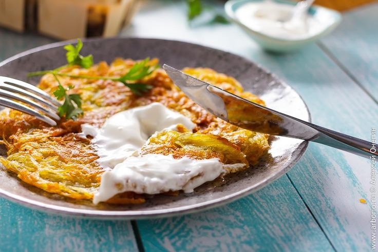 Швейцарские картофельные рёшти - фото