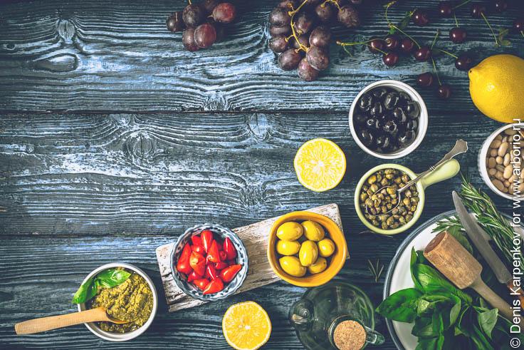 Средиземноморская диета - правила, принципы, польза, меню