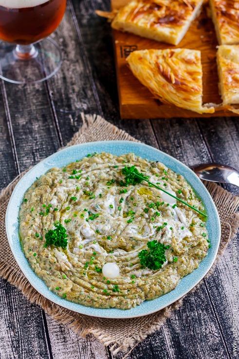 Салат из баклажанов по-гречески - фото