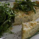 Лоранский пирог со щукой