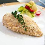 Куриное филе с сыром и тимьяном