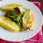 Перцы, фаршированные сыром