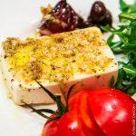 Запеченный сыр фета