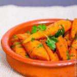 Хрустящая морковь с зирой и кориандром