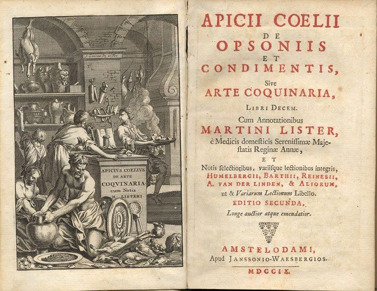 Кулинарные книги древности