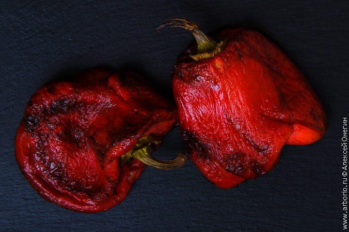 Запеченные перцы в быстром маринаде - фото