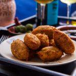 Картофельные крокеты с треской