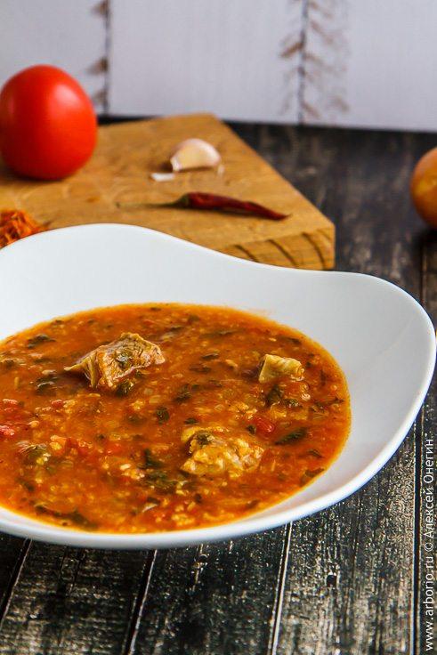Мой суп харчо - фото