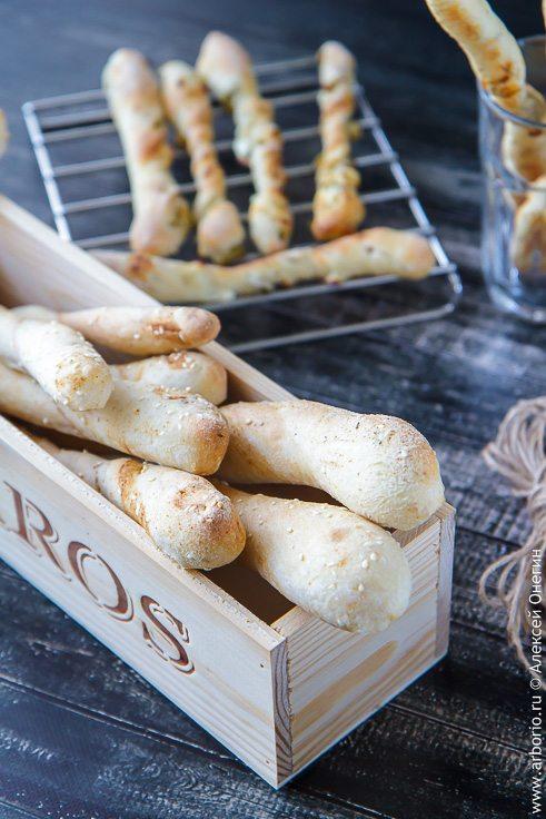Хлебные палочки для вечеринок - фото