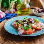 Египетский салат из помидоров