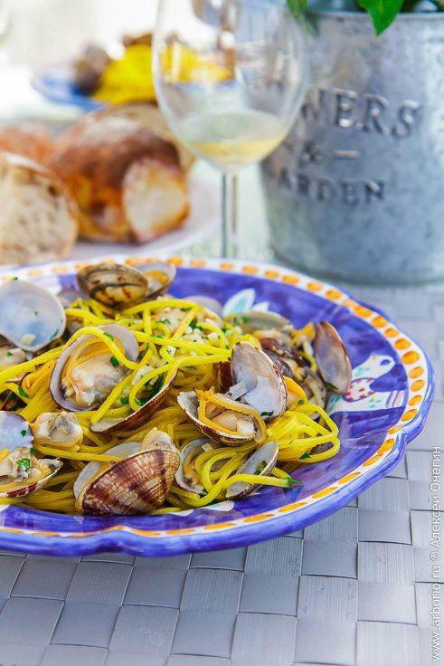 Спагетти вонголе - фото