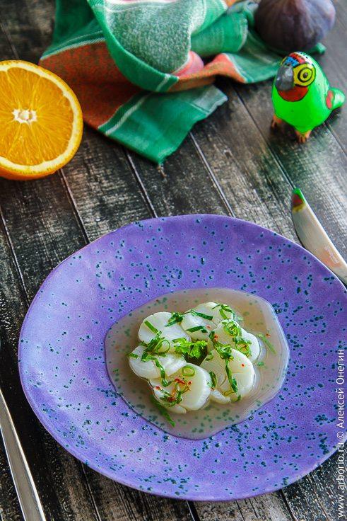 Севиче из морского гребешка - фото