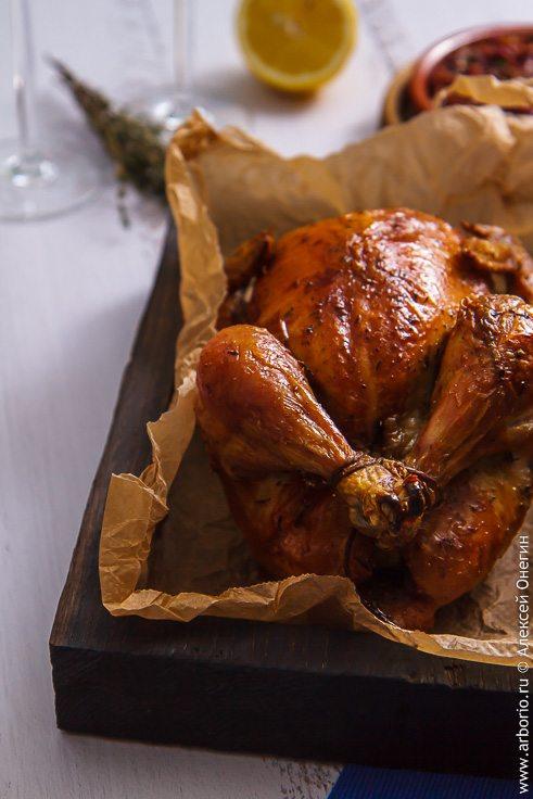 Просто курица в духовке - фото