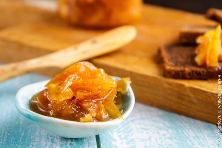 Варенье из яблок с апельсинами - фото