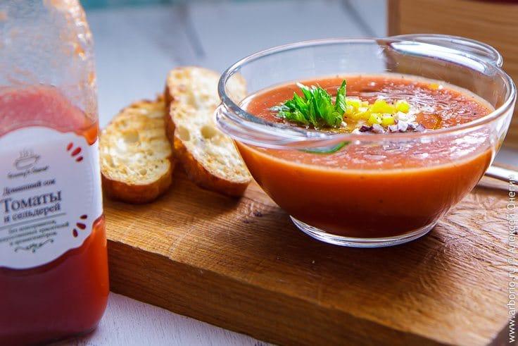 Использование соков в кулинарии - фото