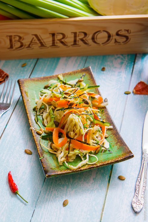 Мой витаминный салат - фото