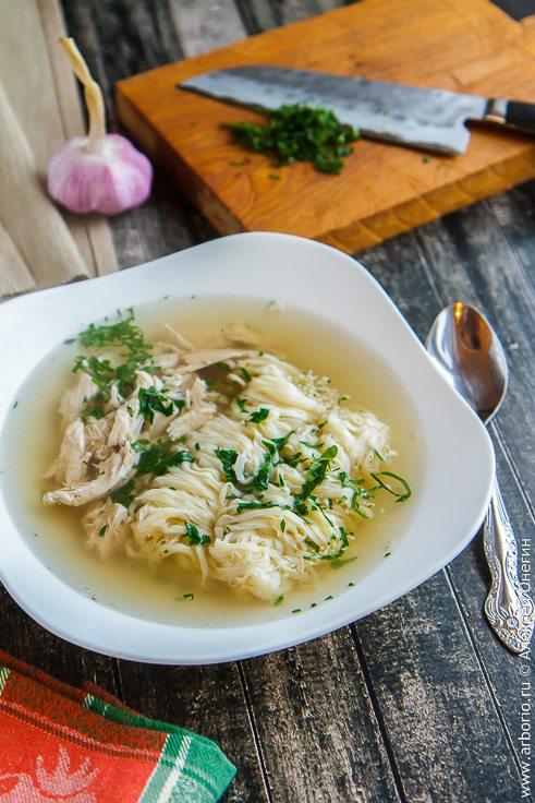 Куриный суп-лапша - фото