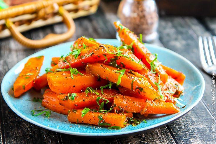 Пряная морковь по-мароккански - фото