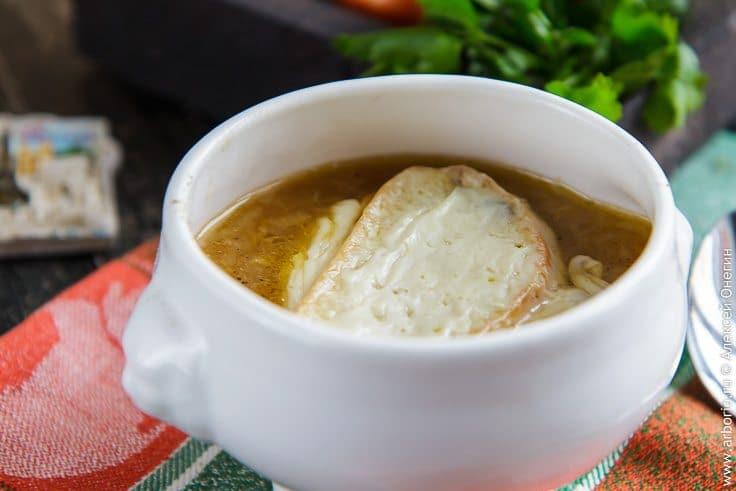 Быстрый луковый суп - фото