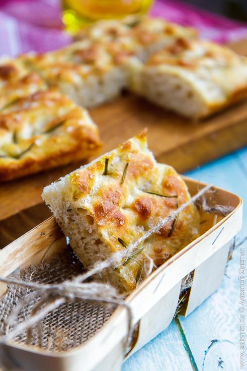 Рецепт итальянской фокаччи