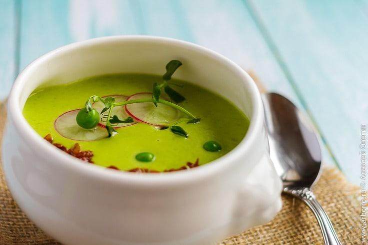 Рецепт горохового крем-супа с фото