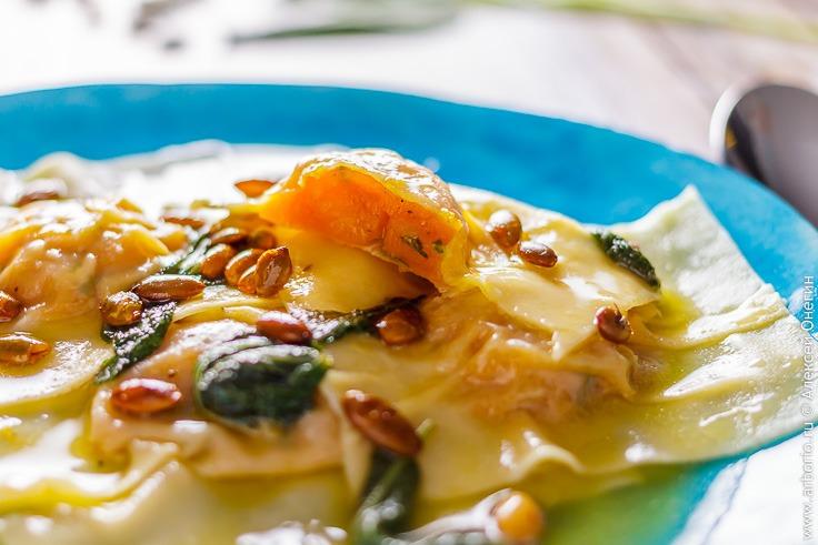 Рецепт пасты с тыквой с фото