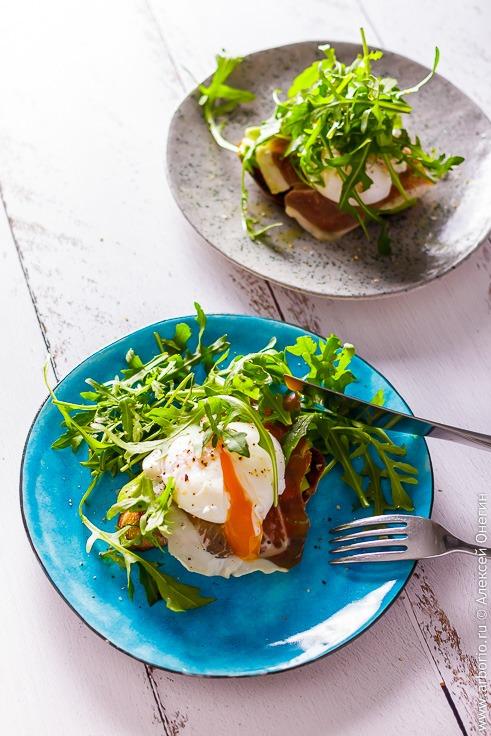 Рецепт тоста с авокадо и яйцом