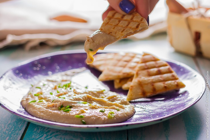 Рецепт греческого соуса из икры тарамасалата
