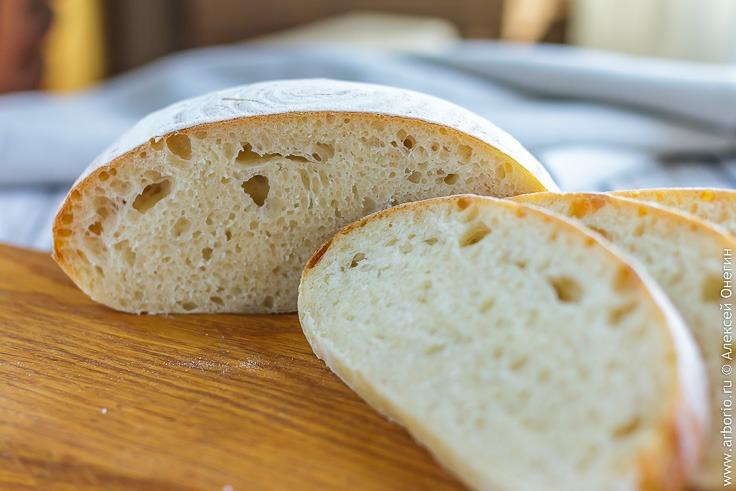Хлеб на закваске, простой как 1-2-3 - фото